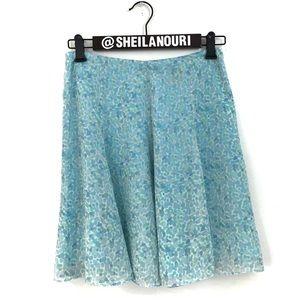 Express Multi Color Peplum Skirt